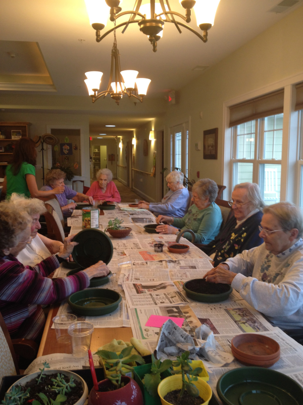 Group Gardening Project Elder Care Cottages Of Wisconsin